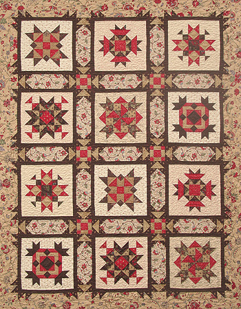 Paris In The Fall BlockoftheMonth The Crafty Quilter Interesting Block Of The Month Quilt Patterns